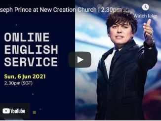 New Creation Church Sunday Live Service June 6 2021