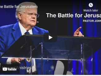 Pastor John Hagee Sermons: The Battle for Jerusalem