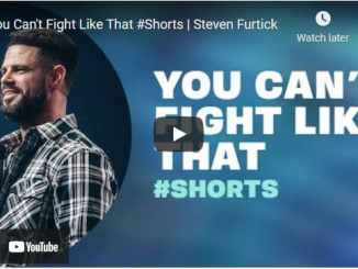 Pastor Steven Furtick: You Can't Fight Like That