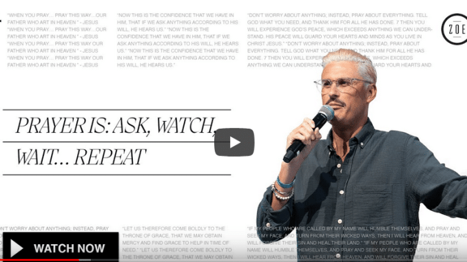 Chad Veach Sermons - Prayer Is: Ask, Watch, Wait... Repeat