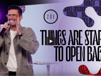 Chad Veach Sermons 2021 - Things Are Starting To Open Back Up