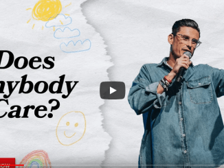Chad Veach Sermons - Does Anybody Care?