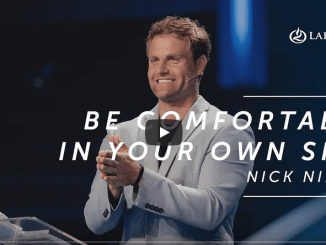 Pastor Nick Nilson Sermons - Comfortable In Your Own Skin