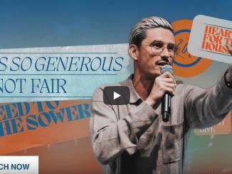 Chad Veach Sermons - God's So Generous, It's Not Fair