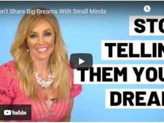 Terri Savelle Foy: Don't Share Big Dreams With Small Minds