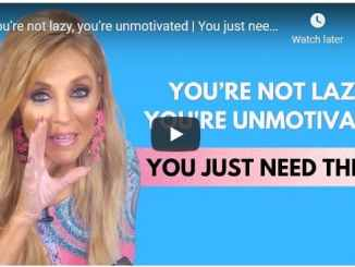 Terri Savelle Foy: You're not lazy, you're unmotivated | You just need this