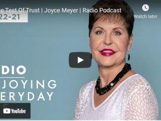 Joyce Meyer Radio Podcast: The Test Of Trust