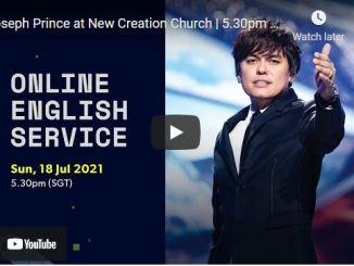 New Creation Church Sunday Live Service July 18 2021