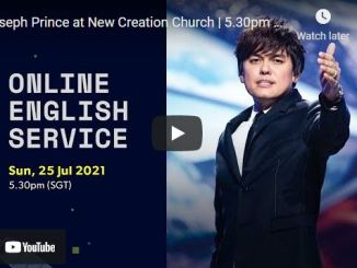 New Creation Church Sunday Live Service July 25 2021