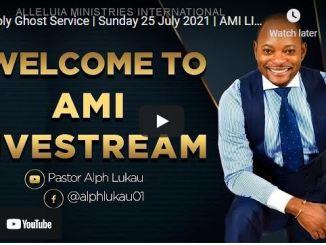 Pastor Alph Lukau Sunday Live Service July 25 2021