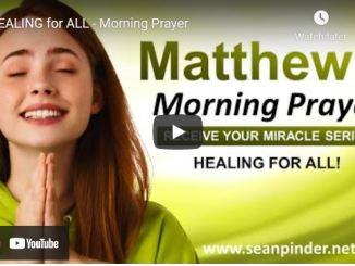 Pastor Sean Pinder Morning Prayer Session July 23 2021