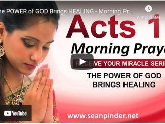 Pastor Sean Pinder Morning Prayer Session July 24 2021