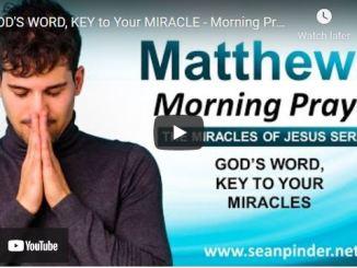 Pastor Sean Pinder Morning Prayer Session July 28 2021