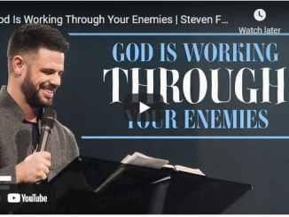 Pastor Steven Furtick Sermons: God Is Working Through Your Enemies