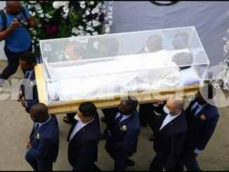 Pictures From Prophet TB Joshua Burial Ceremony