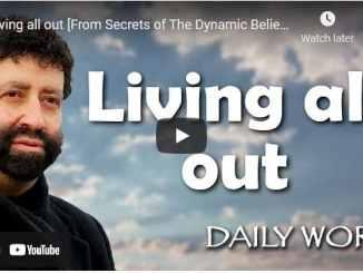 Rabbi Jonathan Cahn Sermons - Living all out