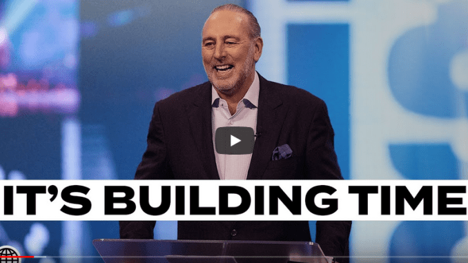 Brian Houston Sermons - Get Up & Get Going - It's Building Time