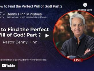 Benny Hinn Sermon: How to Find the Perfect Will of God! Part 2