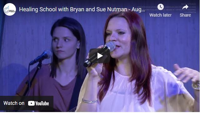 Healing School with Bryan and Sue Nutman - August 2021