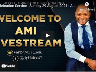 Pastor Alph Lukau Sunday Live Service August 29 2021