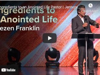 Pastor Jentezen Franklin Sermon: 5 Ingredients to an Anointed Life Pastor