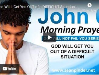 Pastor Sean Pinder Morning Prayer Session August 10 2021