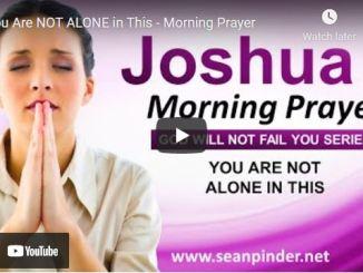 Pastor Sean Pinder Morning Prayer Session August 11 2021