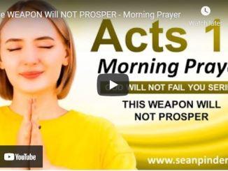Pastor Sean Pinder Morning Prayer Session August 3 2021