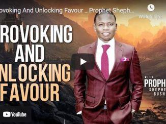Prophet Shepherd Bushiri Sermon: Provoking And Unlocking Favour