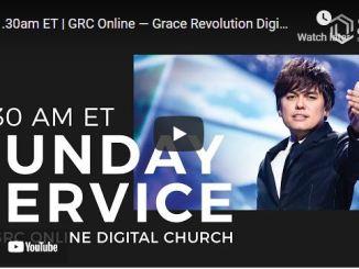 Grace Revolution Digital Church Service September 26 2021