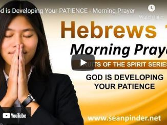 Pastor Sean Pinder Morning Prayer Session September 2 2021
