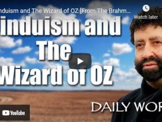 Rabbi Jonathan Cahn: Hinduism and The Wizard of OZ