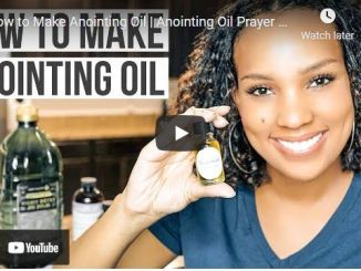 Karolyne Roberts: How to Make Anointing Oil   Anointing Oil Prayer and Instructions