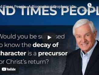 Pastor David Jeremiah: End Times People - A Biographical Prophecy