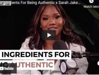 Sarah Roberts & Consolata Kapuya: Key Ingredients For Being Authentic