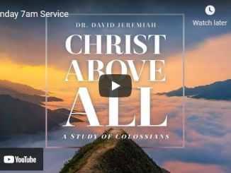 Sunday Live Service With Pastor David Jeremiah October 24 2021