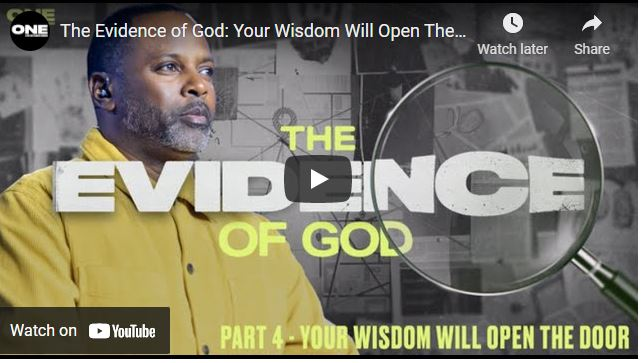Touré Roberts: The Evidence of God: Your Wisdom Will Open The Door