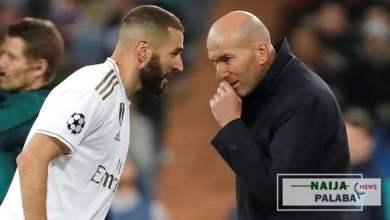 Photo of Karim Benzema:Zidane says the Frenchman is like Cristiano Ronaldo in history of Real Madrid