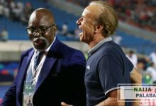 Photo of NFF queries Gernot Rohr over breach of contract