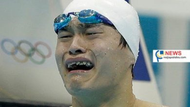 Photo of Chinese swimmer Sun Yang banned for eight years for drug offence