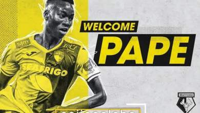 Photo of French midfielder Pape Gueye as joined Watford