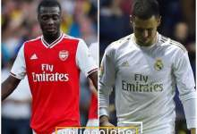 Photo of FOOTBALL LOVERS!! Pepe Or Hazard, Which Of These Summer Signing Is Having The Worse Season?