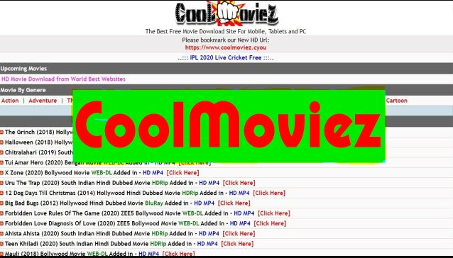 Coolmoviez: Download Free Movies Online in HD Quality 2021