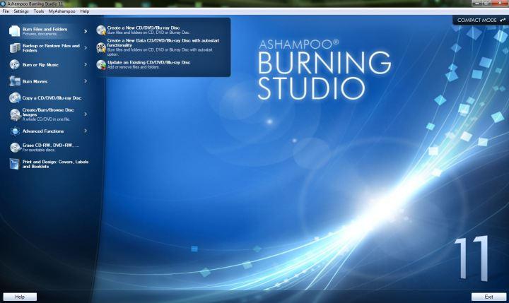 Ashampoo DVD Burning Software