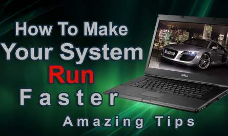 make computer run faster
