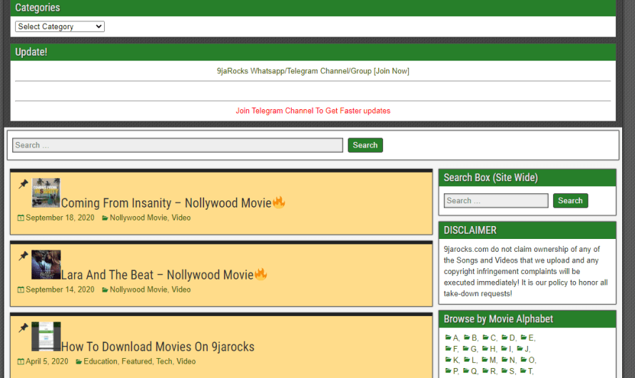 9jarocks – The Best Movie Downloads Website
