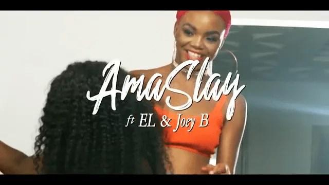 VIDEO: Ama Slay - Asem ft. Joey B & E.L Mp4