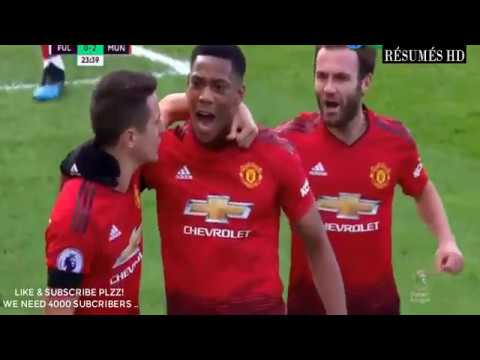 VIDEO: Manchester United Vs Fulham 3-0 EPL 2019 Goals Highlights Mp4