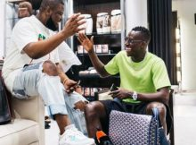 """Wish I Can Play For Man City"" - Hushpuppi Says As He Pictured With Benjamin Mendy 11 Download"