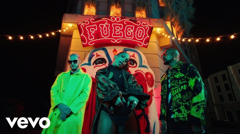 VIDEO: DJ Snake, Sean Paul, Anitta Ft. Tainy - Fuego Mp4 Download